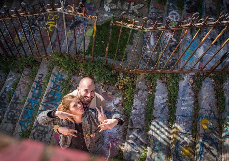 Séance photo couple - Urbex - Paris