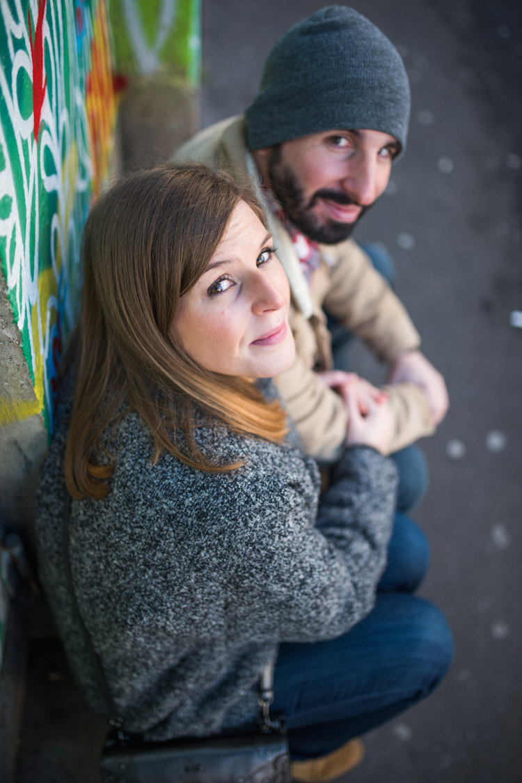 Séance photo couple - Urbex - Paris