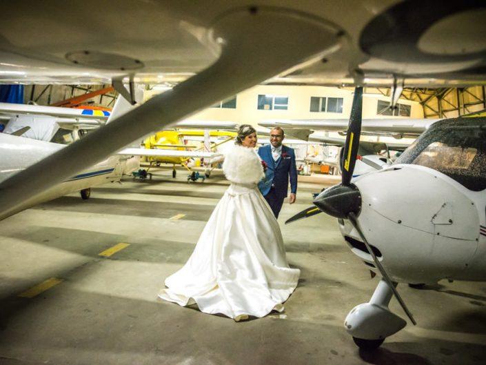 Mariage en hiver – Aérodrome – Oise – Boissy le bois
