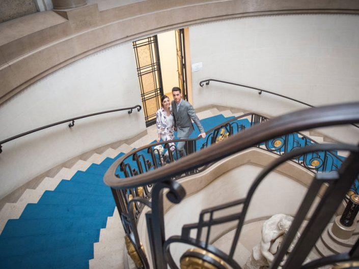 Mariage civil – Paris 5 – Place du Panthéon