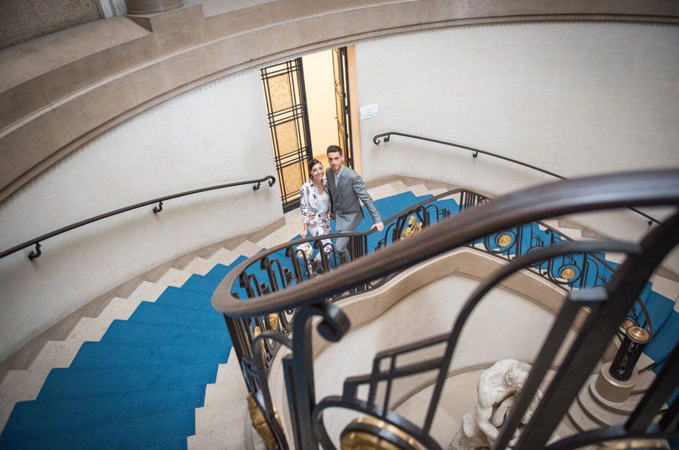 Mariage civil à Paris Panthéon