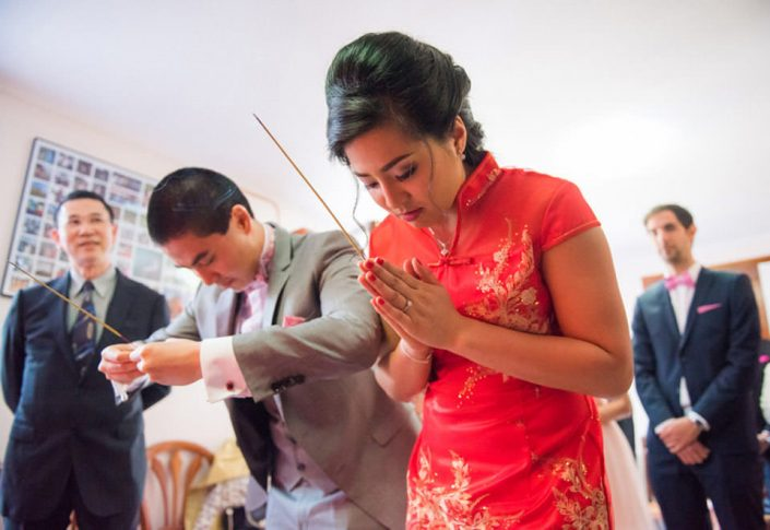 Mariage Cambodgien - Cérémonie du thé