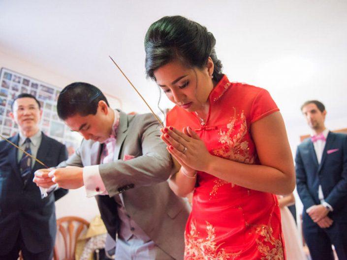 Mariage Cambodgien – Cérémonie du thé