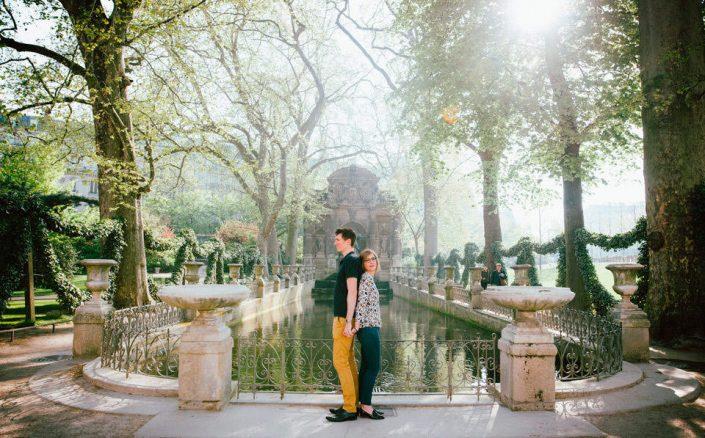 Photos romantiques à Paris