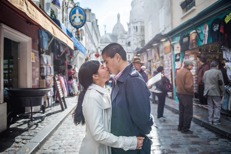 Séance photo couple - Montmartre