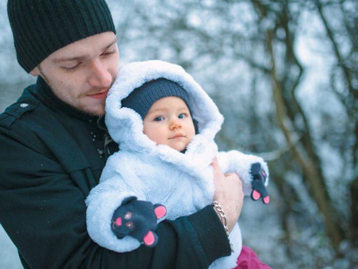 Séance photo famille – Noël en Alsace