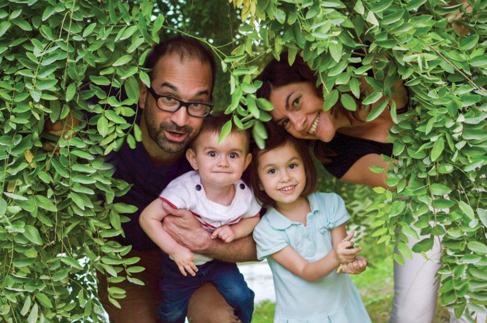 Séance photo famille au Lac de Vincennes