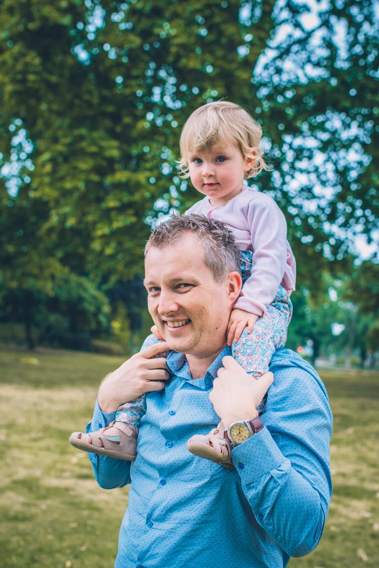 Séance photo famille - Cadeau fête des pères