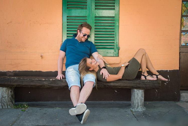 Séance photo couple engagement - Montmartre Paris