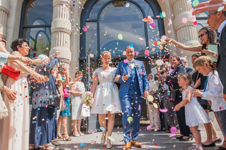 FAQ - Photographe Mariage Paris - Sortie de mairie mariage