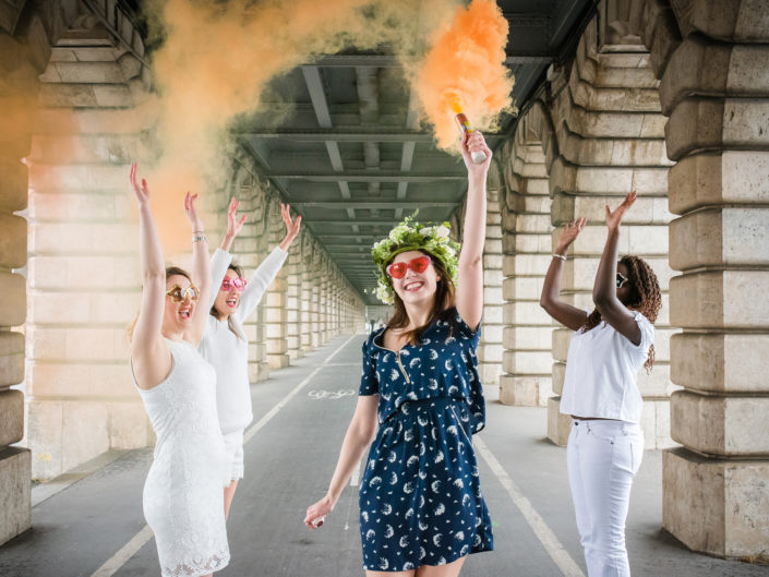 EVJF Pont de Bercy Paris